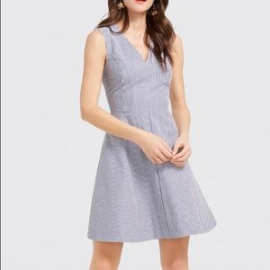 Draper James seersucker dress